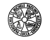 Turistické razítko - Lucca - kostel San Michelle (Itálie)